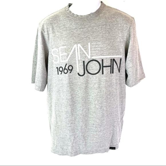 Sean John Men's Gray T-shirt M